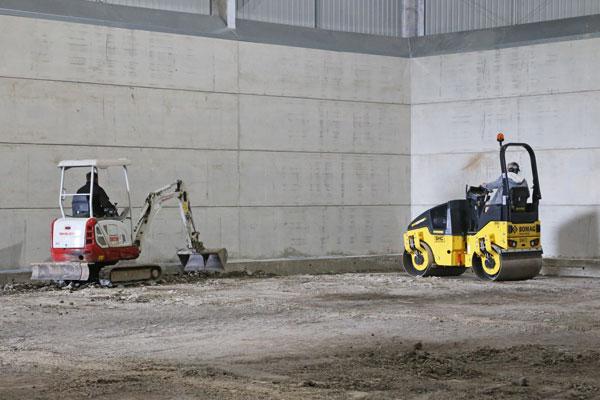 Commercial concrete works