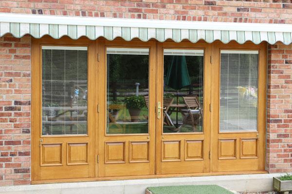 New build patio doors